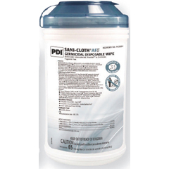 MON38844106 - PDISani-Cloth® Bleach Germicidal Disposable Wipes, XLG, 65 per Canister