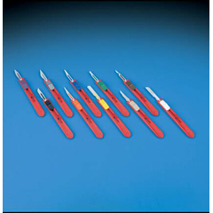 MON38922500 - DeRoyalSafety Scalpel with Blade Retractable Size 10 Stainless Steel Blade Plastic Handle Disposable