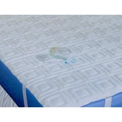 MON39070900 - ConcoQuilted Sheet Dignity® 75 L X 39 W Inch Polyester / Vinyl
