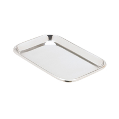 MON39262500 - Miltex Medical - Instrument Tray Miltex Non Perforated Mayo Stainless Steel 23/32 x 6-1/2 x 10 (3-926)
