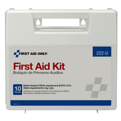 MON39662000 - First Aid OnlyFirst Aid Kit 10 Person Waterproof Case