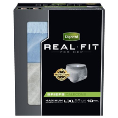 MON39953120 - Kimberly Clark ProfessionalDepend Real Fit® Protective Underwear (33995), Small, 40/CS