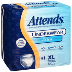 MON40103110 - Attends - Adult Absorbent Underwear Attends® Pull On X-Large Disposable Moderate Absorbency