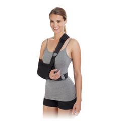 MON40153000 - DJO - Shoulder Immobilizer PROCARE® Medium Poly Cotton Contact Closure