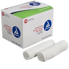 MON40312000 - DynarexGauze Bandage 4 X 4.1 Yard, 12EA/BX