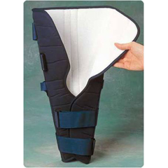 MON40423000 - Sammons PrestonKnee Immobilizer Medium Hook and Loop Strap Closure 19 to 20 Inch Long, 24 Inch