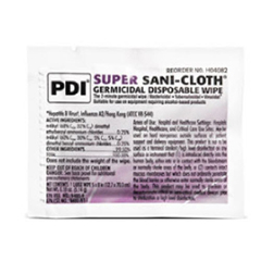 MON40821110 - Professional DisposablesHard Surface Disinfectant Super Sani-Cloth® Wipe Packet, 50/BX 10BX/CS