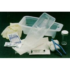 MON40851920 - Cardinal HealthCatheter Insertion Tray AMSure Foley Without Catheter
