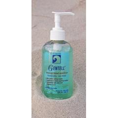 MON41082702 - GentellInstant Hand Sanitizer Gel Gentell® 8 oz. Ethyl Alcohol, Aloe Vera, Vitamin A and D Pump Bottle, 12EA/CS