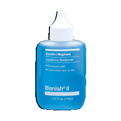 MON696925EA - Smith & Nephew - Deodorant Banish® II 1.25 oz. Refillable Bottle, Liquid, Refillable