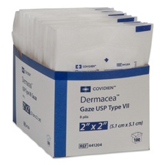 MON531576PK - Cardinal Health - Dermacea™ USP Type VII Gauze Sponge (441204), 2/PK