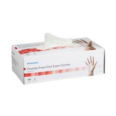 MON832680BX - McKesson - Exam Glove NonSterile Powder Free Vinyl Smooth Clear X-Small Ambidextrous