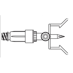 MON349479EA - B. Braun - Dispening Pin Mini Spike