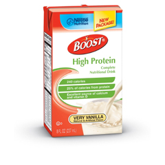 MON41392600 - Nestle Healthcare Nutrition - Oral Supplement BOOST® High Protein Very Vanilla 8 oz.