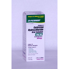 MON41472700 - Perrigo NutritionalsAllergy Relief 1 mg / ml 4 oz.