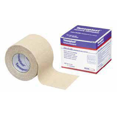 MON451250CS - BSN Medical - Elastic Adhesive Bandage Tensoplast 2 Inch X 5 Yard Medium Compression No Closure Tan NonSterile, 6RL/BX, 12BX/CS