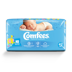 MON41563101 - AttendsBaby Diaper Comfees Tab Closure Newborn Disposable