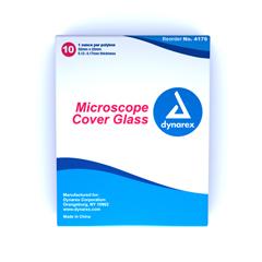 MON41762400 - DynarexGlass Cvr Microscope 5/PK 10PK/CS