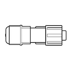 MON41822800 - B. BraunIntermittent Injection Cap, 100 EA/CS