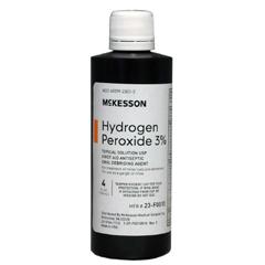 MON42012700 - McKessonHydrogen Peroxide, 4 oz.