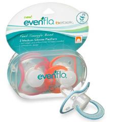 MON42171700 - EvenfloPacifier Bebek® 3 to 6 Months, 2EA/PK