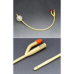 MON42281900 - Amsino InternationalFoley Catheter AMSure 2-Way 30 cc Balloon 18 Fr. Silicone Coated Latex