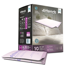 MON42383100 - AttendsPremier Low Air Loss Positioning Underpads, 30 x 36, 60/CS