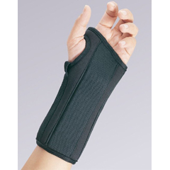 MON42513000 - BSN Medical - Wrist Splint PROLITE Contoured Foam Left Hand Black Medium