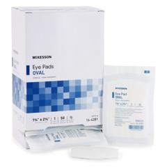 MON467977BX - McKesson - Eye Pad Medi-Pak™ 1-5/8 X 2-5/8, 50EA/BX