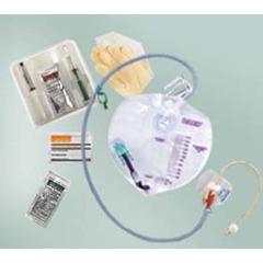 MON42841910 - Bard MedicalIndwelling Catheter Tray Bardex I.C. Foley 16 Fr.