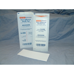MON471997CS - McKesson - Non-Adherent Dressing Medi-Pak Performance Nylon / Polyester Blend 3 x 8 Sterile