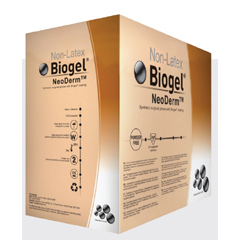 MON42961300 - Molnlycke HealthcareSurgical Glove Biogel NeoDerm Sterile Powder Free Synthetic Polychloroprene Micro-Textured Light Brown Not Chemo Approved Size 6 Hand Specific