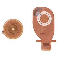 MON43044900 - ColoplastOstomy Baseplate Assura® AC Easiflex® 3/8 to 1-3/8 Inch, 10EA/BX