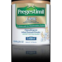 MON43402600 - Mead Johnson NutritionInfant Formula Pregestimil® Lipil® 2 oz. Bottle Ready to Use