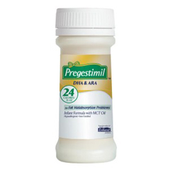 MON43402601 - Mead Johnson NutritionInfant Formula Pregestimil® Lipil® 2 oz. Bottle Ready to Use