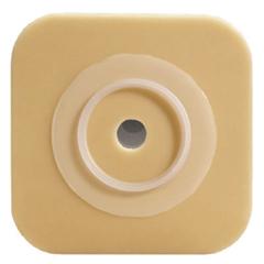 MON461914BX - Convatec - Ostomy Barrier Sur-Fit Natura®, Durahesive™ Tape 1-1/2 Flange 4.5 X 4.5, 10EA/BX