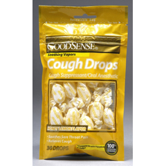 MON43802700 - Geiss, Destin & DunnCough Relief GoodSense 8 mg Strength Lozenge 30 per Bag