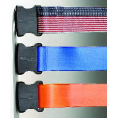 MON43883000 - Skil-CareGait Belt PathoShield® 72 Inch Orange Plastic Coated Webbing