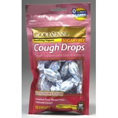 MON44002700 - Geiss, Destin & DunnCough Relief GoodSense 5 mg Strength Lozenge 25 per Bag