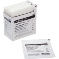 MON765450CS - Cardinal Health - Dermacea™ Gauze Sponge (441009), 25PK/BX, 48BX/CS