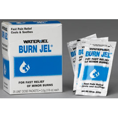 MON44322700 - Moore MedicalPain Reliever Burn Jel® 1/8 oz. Gel, 25EA/BX