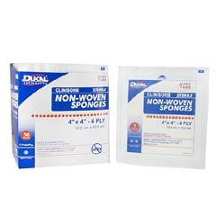 MON44472000 - Dukal - Clinisorb Non-Woven Sponge (7444), 2/PK, 50PK/BX