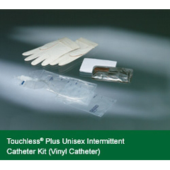 MON44511900 - Bard MedicalIntermittent Catheter Kit Touchless Plus Closed System / Straight Tip 8 Fr. Without Balloon Vinyl