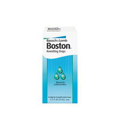 MON44712700 - Bausch & LombContact Lens Rewetting Drops Boston 10 mL