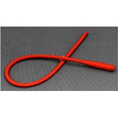 MON803095EA - Amsino International - Urethral Catheter AMSure Straight Tip Red Rubber 14 Fr. 16
