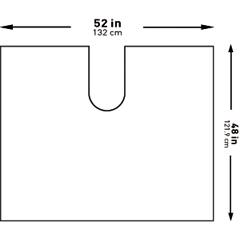 MON1101291PK - McKesson - Orthopedic Drape Impervious U-Drape 52 W X 48 L Inch Sterile, 1/PK