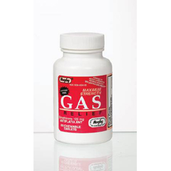 MON45342700 - Major PharmaceuticalsGas Relief 125 mg Strength Chewable Tablet 60 per Bottle