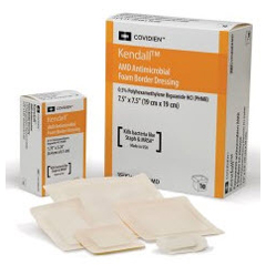 MON45452110 - MedtronicKendall™ Foam Dressing AMD 3.5 x 3.5 Square 2 x 2 Pad Sterile