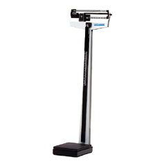 MON45503700 - Health O MeterFloor Scale Balance Beam 500 lbs.