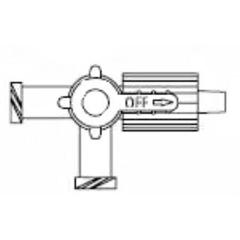 MON180938EA - B. Braun - Discofix® Stopcock (456003)